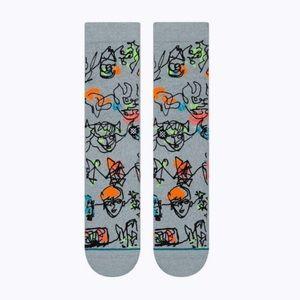 Stance Underwear & Socks - Stance Electric Slide Crew Height Sock